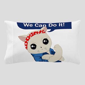 Feminist Cat Pillow Case