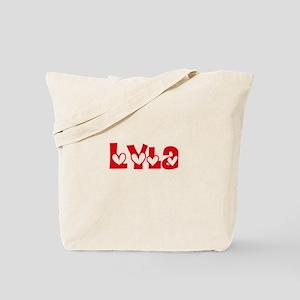 Lyla Love Design Tote Bag