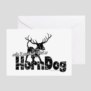 Horndog... Greeting Card