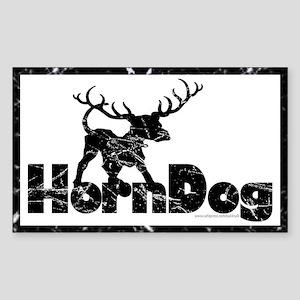 Horndog... Rectangle Sticker