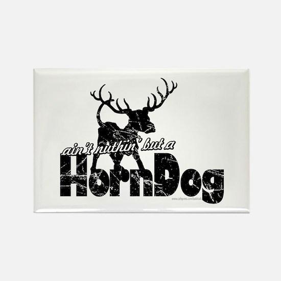 Horndog... Rectangle Magnet