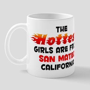 Hot Girls: San Mateo, CA Mug