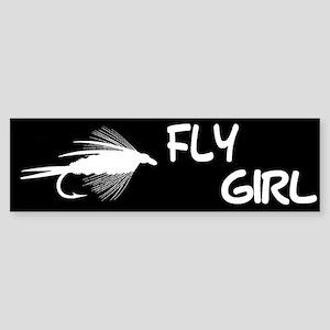FLY GIRL - BUMPER STICKER