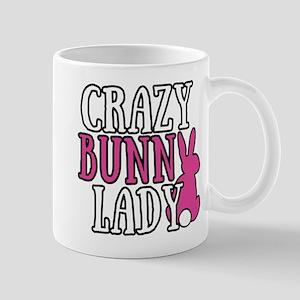 Crazy Bunny Lady 11 oz Ceramic Mug
