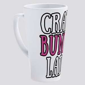 Crazy Bunny Lady 17 oz Latte Mug