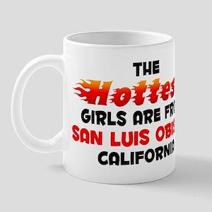 Hot Girls: San Luis Obi, CA Mug
