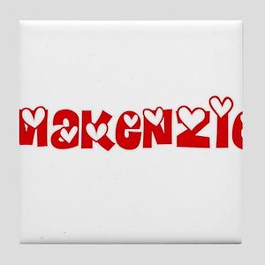 Makenzie Love Design Tile Coaster