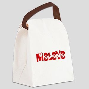 Malaya Love Design Canvas Lunch Bag
