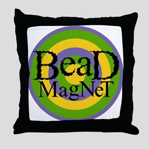 Bead Magnet Throw Pillow