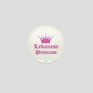 Lebanese Princess Mini Button