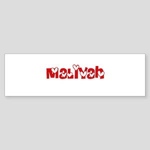 Maliyah Love Design Bumper Sticker