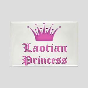 Laotian Princess Rectangle Magnet