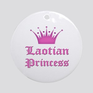 Laotian Princess Ornament (Round)