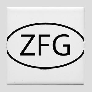 ZFG Tile Coaster