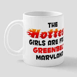 Hot Girls: Greenbelt, MD Mug