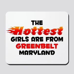 Hot Girls: Greenbelt, MD Mousepad