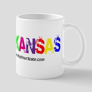 Colorful Arkansas Mug