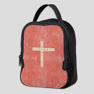 Scrabble Champion Neoprene Lunch Bag
