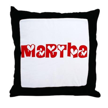Martha Love Design Throw Pillow