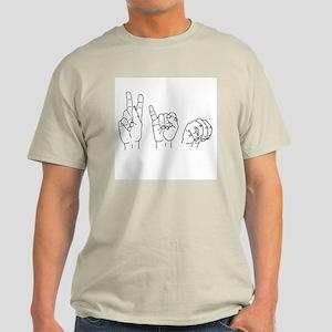 Kim in ASL Light T-Shirt