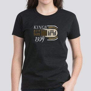 Gothic Birthday Kings Castle Born 1934 T-Shirt