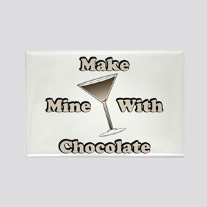 Chocolate Martini Rectangle Magnet