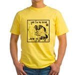 Cat Aries Yellow T-Shirt