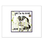 Cat Aries Small Poster