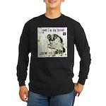 Cat Aries Long Sleeve Dark T-Shirt
