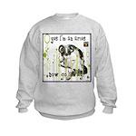 Cat Aries Kids Sweatshirt