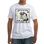 Cat Aries Fitted T-Shirt