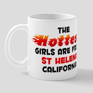 Hot Girls: St Helena, CA Mug