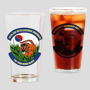 607th AIS Drinking Glass