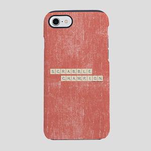 Scrabble Champion iPhone 8/7 Tough Case