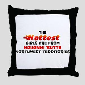 Hot Girls: Nahanni Butt, NT Throw Pillow