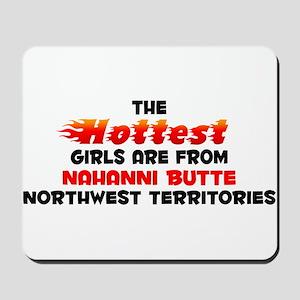 Hot Girls: Nahanni Butt, NT Mousepad