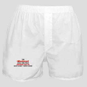 Hot Girls: Nahanni Butt, NT Boxer Shorts
