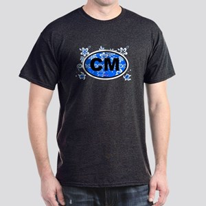 Cape May Oval  Dark T-Shirt