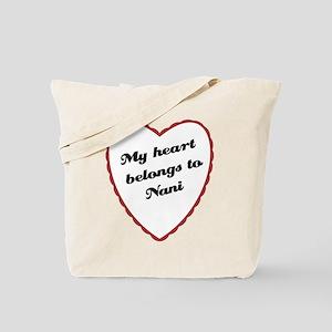My Heart Belongs to Nani Tote Bag