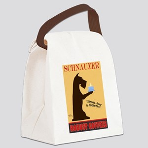 Schnauzer Robust Coffees Canvas Lunch Bag
