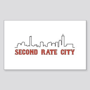 Second Rate City Sticker