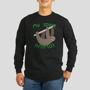 My Spirit Animal Long Sleeve Dark T-Shirt