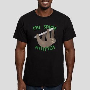 My Spirit Animal Men's Fitted T-Shirt (dark)
