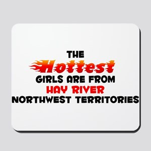 Hot Girls: Hay River, NT Mousepad