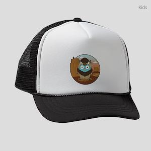 Buffalo Gopher in Desert Kids Trucker hat