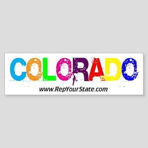 Colorful Colorado Bumper Sticker