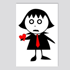 Spooky Love Postcards (Package of 8)