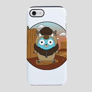 Buffalo Gopher in Desert iPhone 8/7 Tough Case