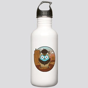 Buffalo Gopher in Dese Stainless Water Bottle 1.0L