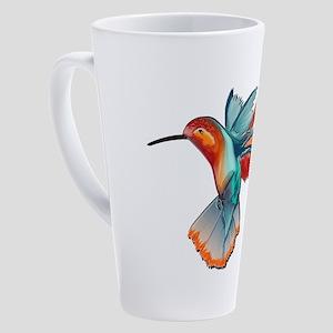 MANY MOVES 17 oz Latte Mug